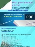MAT 117 MART Peer Educator-mat117mart.com