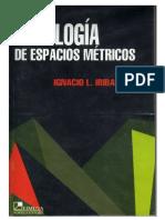 Iribarren Ignacio L - Topologia De Espacios Metricos.pdf
