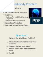Phil 102 Mind Body Problem(1)