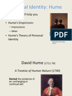 Phil 102 Personal Identity Hume(1)