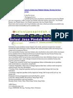+6282 3329 62777 (Telkomsel), Solusi Jasa Pindah Malang, Moving Services Company, Packaging Service