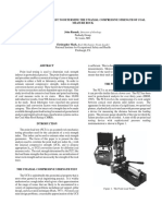 USING THE POINT LOAD TEST TO DETERMINE THE UNIAXIAL COMPRESSIVE STRENGTH OF COAL MEASURE ROCK