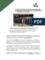 El Encuentro en la Cumbre del Club Excelencia en Gestión elige Castellana 81 para debatir sobre la importancia de la sostenibilidad en edificios de oficinas