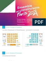 Présentation de la candidature Paris 2024 au groupe d'étude de l'Assemblée nationale