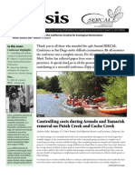 Ecesis Newsletter, Winter 2007 ~ California Society for Ecological Restoration