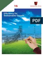 Krakatau Steel Annual Report 2015