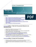 11 Procurement Process Considerations _ Department of Finance