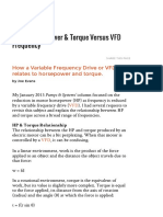 01 Motor Horsepower & Torque Versus VFD Frequency _ Pumps & Systems
