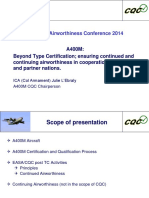 Beyond Type Certification a400m Cqc
