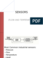 Instruments-flow and Temperature Sensors