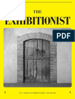 The Exhibitionist Issue 1