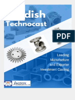 Quality Investment Casting Manufacturers - Jagdish TechnoCast