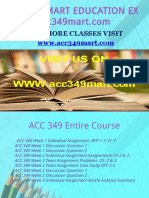 ACC 349 MART EDUCATION EXPERT / acc349mart.com