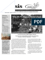 Ecesis Newsletter, Winter 2005 ~ California Society for Ecological Restoration