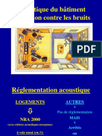 Acoustique Du Bâtiment_Protection Contre Les Bruits