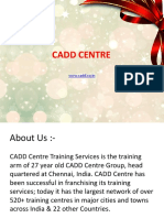 Registered CADD Training Centre in Anna Nagar Chennai