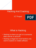 Hacking and Cracking