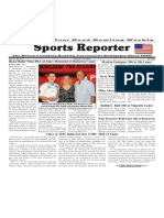 May 25 - 31, 2016  Sports Reporter