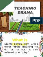 Teaching Drama Arvie