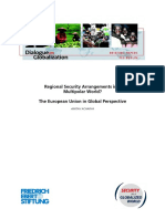 Regional Security Arrangements in a Multipolar World