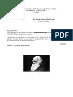 C.darwin- Origine Delle Specie. Selezione Naturale