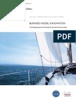 CAS Business Model Innovation Brochure