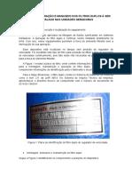 Manual de Operação e Manuseio Dos Filtros Duplos à Ser Instalado Nas Unidades Geradoras (2)