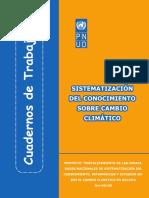 Sistematizacion Del Conocimiento Cambio Climático