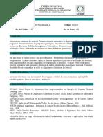 Ementa IEC430 - Laboratório Programação A