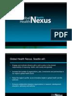 Global Health Nexus budget doc, April 19, 2010