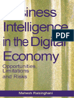 Idea Group, Business Intelligence in the Digital Economy - Opportunities, Limitations and Risks [2004 Isbn1591402069]