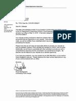FOIA Case No. 2016-RD-03848-F Sumter Electric Cooperative, Inc.