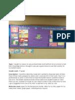 bulletin board area