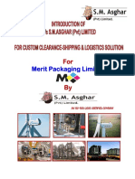 Introduction Of S.M.Asghar (Pvt) Limited