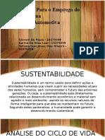 Motivação Para o Emprego Do Ecodesign