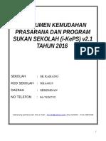 BORANG I-KePS Versi 2.1 Edisi Semakan 2016
