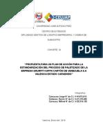 plan de accion para la estandarizacion del paletizado de las empresas smurfit kappa carton de venezuela