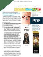 Página_12 __ Psicología __ Medicalización de La Diferencia, El Manejo Del Poder