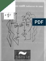 Revista de Psicoanálisis Ñacate N 0 Montevideo 2007