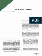 10. La Administración Pública y La Ley (Eduardo García de Enterría)