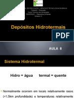 AULA 8 - Depósitos Hidrotermais