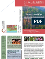 KS Wild Newsletter, Fall 2008 ~ Klamath-Siskiyou Wildlands Center