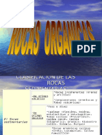 Geologia Rocas Orgánicas