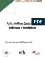 Curso Planificacion Desafios Nuevas Tendencias Industria Minera