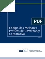 Código Das Melhores Práticas de Governança Corporativa - IBGC