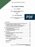 Strain_gradient Plasticity Theory