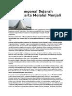 Mengenal Sejarah Yogyakarta Melalui Monjali