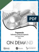 Fundamentos y Prácticas de Programación
