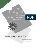 Ben Rafoth Tutor's Guide Chapter8