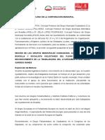 Propuesta pleno 27 de mayo Ayuntamiento de Boadilla del Monte